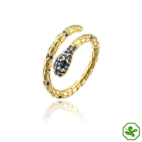 solid-gold-snake-ring 3