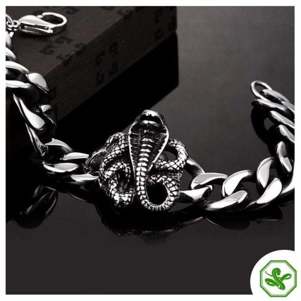 cobra bracelet for men