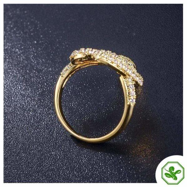 Stainless Steel Snake Ring 4