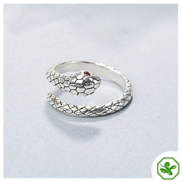 sterling-silver-adjustable-snake-ring 2