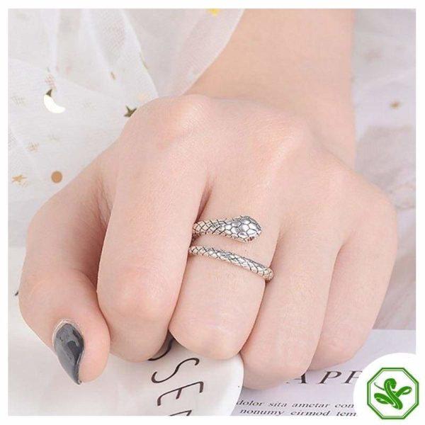 sterling-silver-adjustable-snake-ring 6