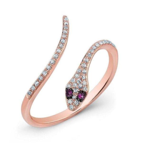 Thin Snake Ring 1