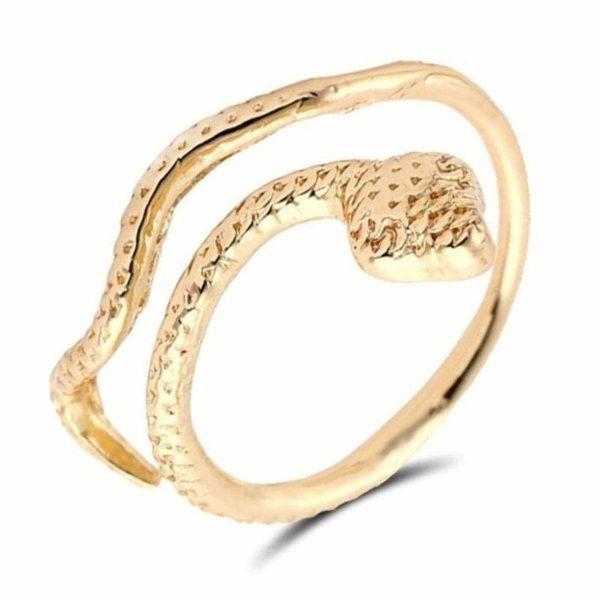 trendy-snake-ring 1