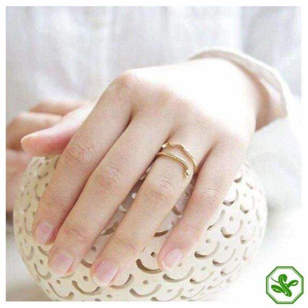 trendy-snake-ring 6