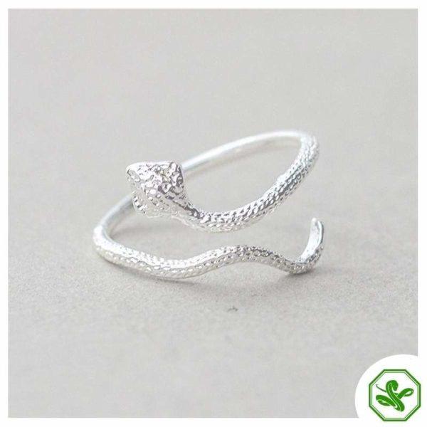 trendy-snake-ring 7