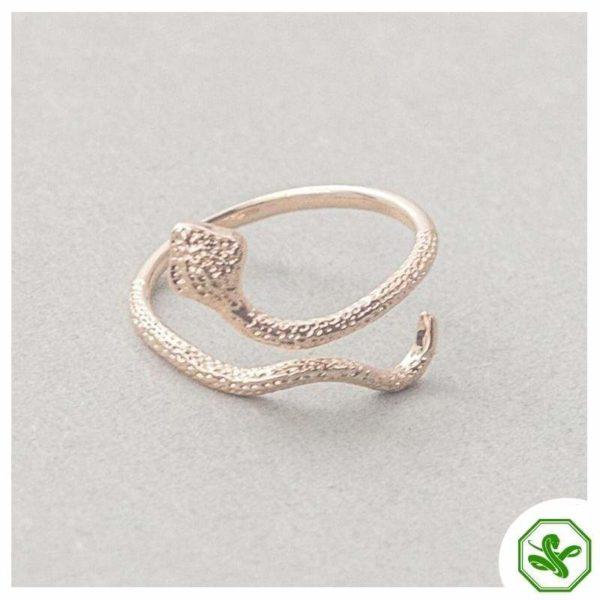 trendy-snake-ring 8