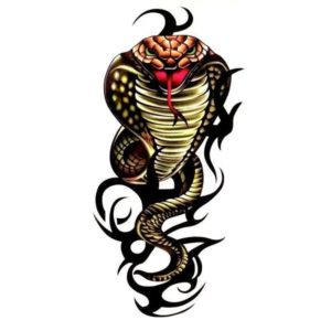 Tribal Snake Tattoo 1
