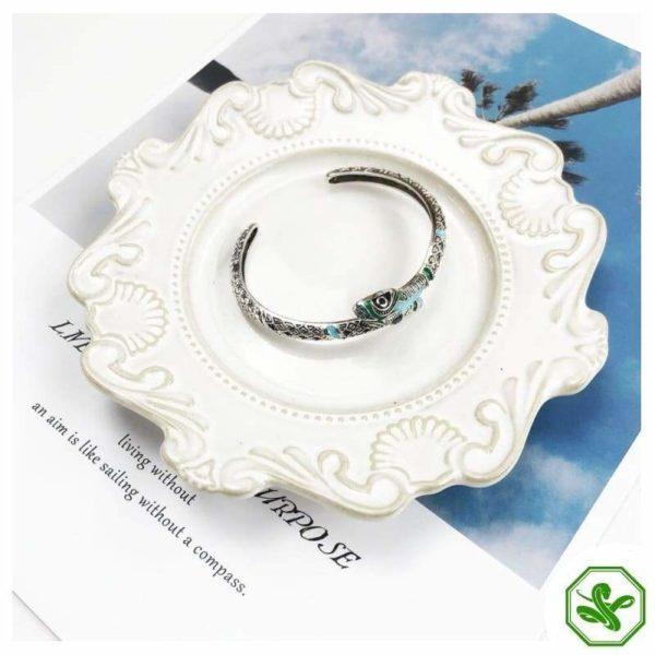 Turquoise Snake Bracelet 4