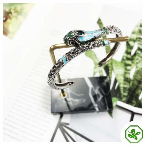 Turquoise Snake Bracelet 3
