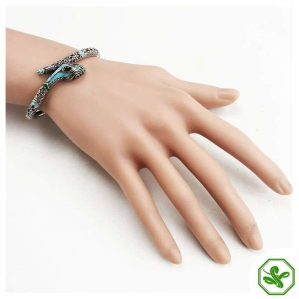 Turquoise Snake Bracelet 5
