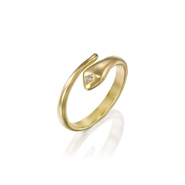 victorian-gold-snake-ring 1