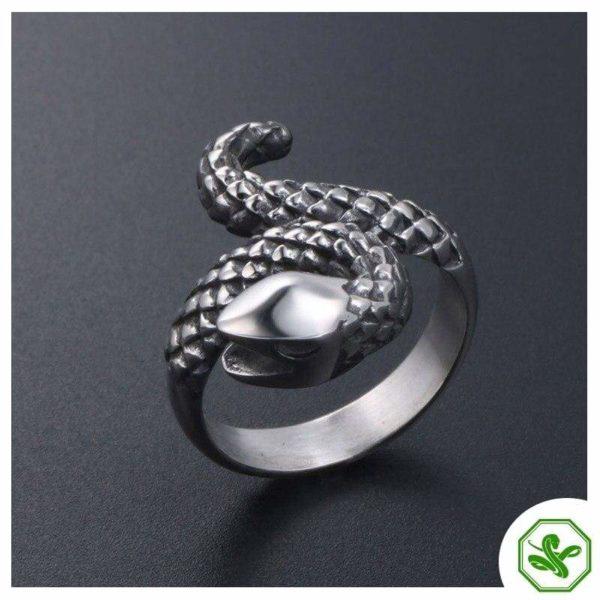 vintage-silver-snake-ring 4