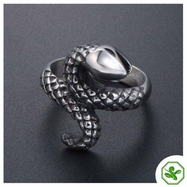 vintage-silver-snake-ring 3