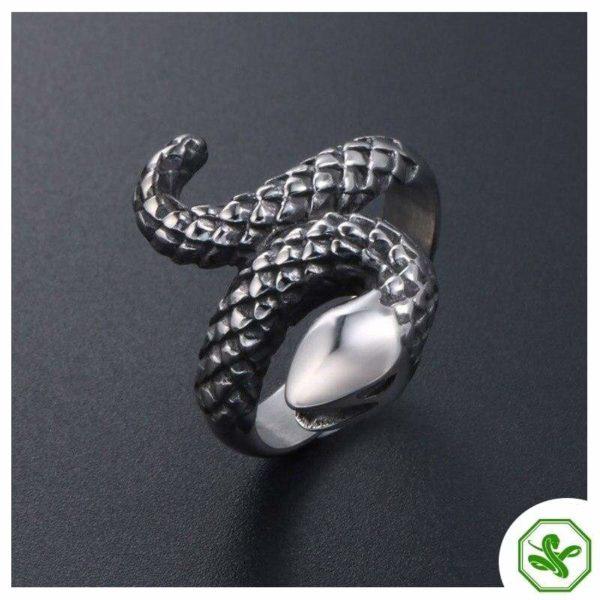 vintage-silver-snake-ring 5