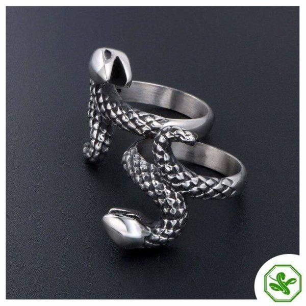 vintage-silver-snake-ring 2