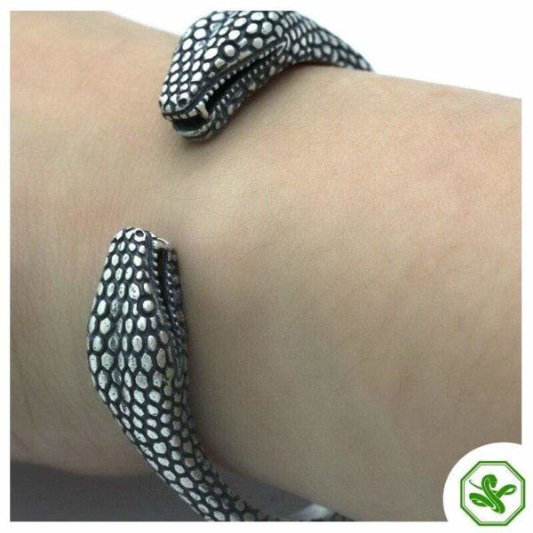 925 snake bracelet for men