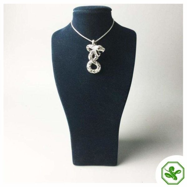 vintage snake pendant