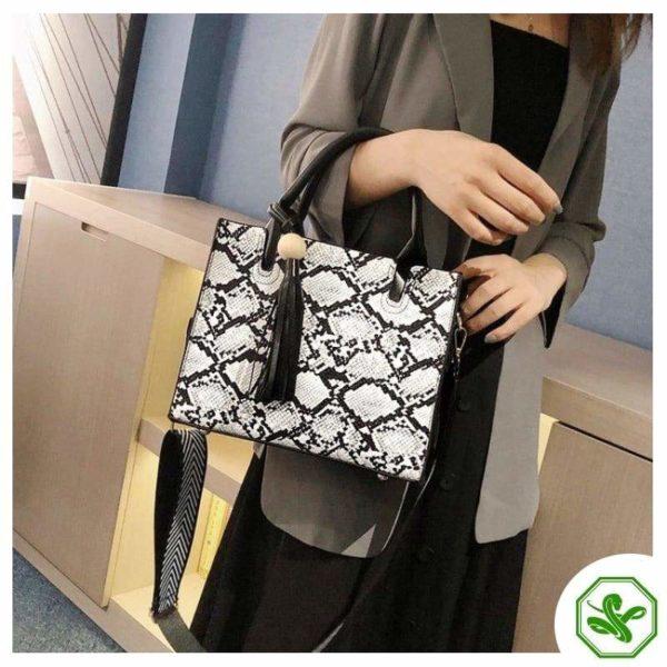 Vintage Snakeskin Bag 15