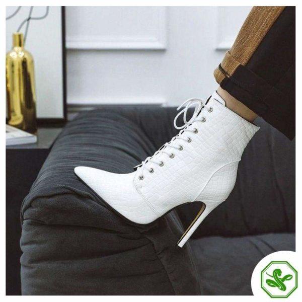 women white snake boots