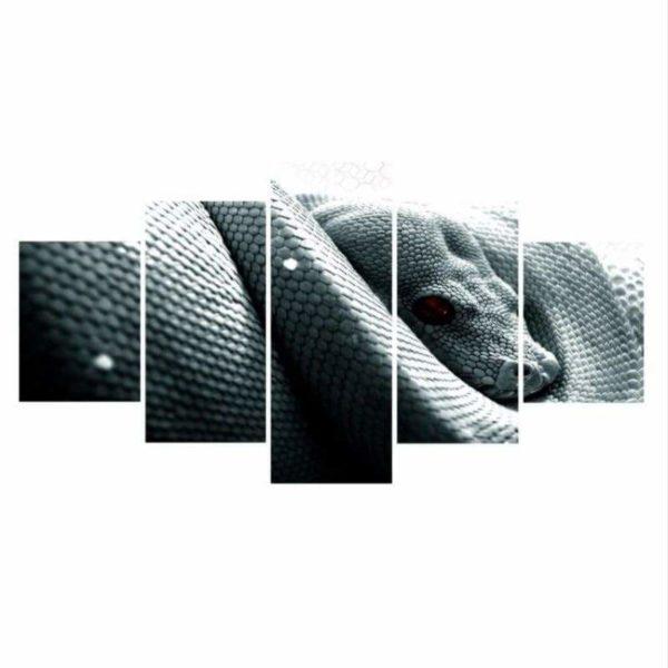 White Snake Painting