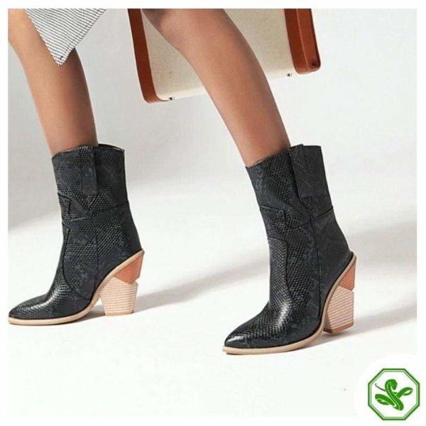 Women's Snakeskin Cowboy Boots 11