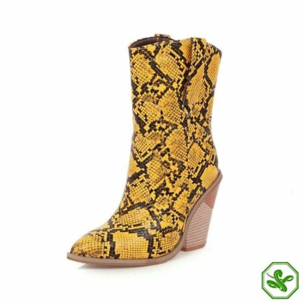 Women's Snakeskin Cowboy Boots 18