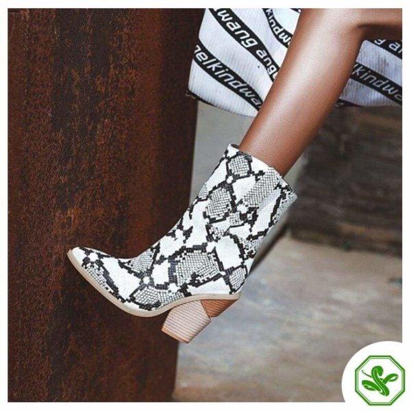 Women's Snakeskin Cowboy Boots 3