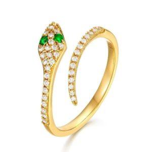 Yellow Ring Snake 1