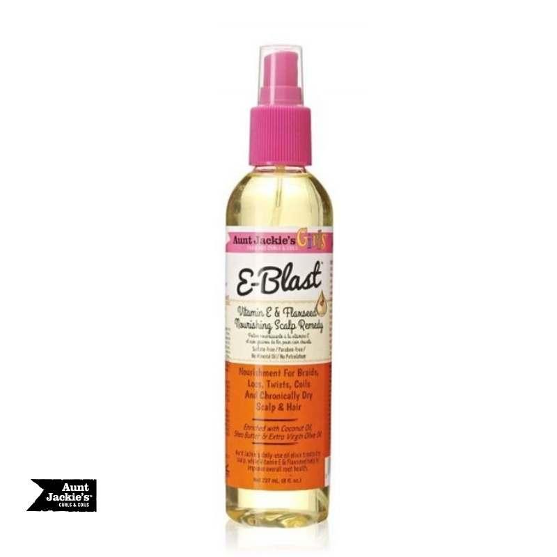 Aunt Jackie's Girls E-Blast Vitamin E & Flaxseed Nourishing Scalp Remedy - cheveuxcrepus.fr