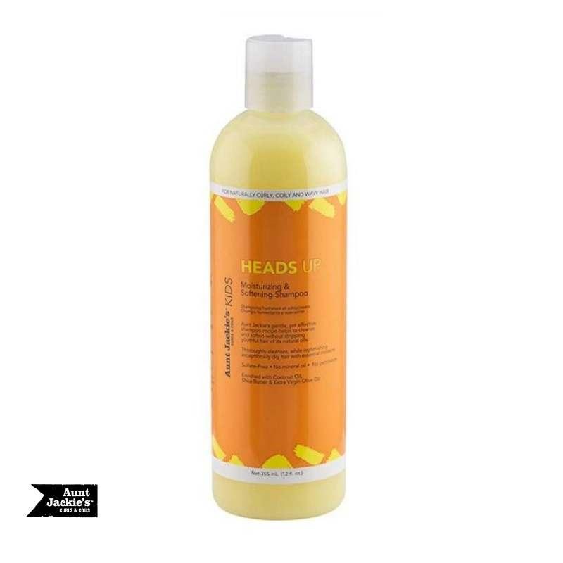 Aunt Jackie's Girls Heads Up Moisturizing & Softening Shampoo - cheveuxcrepus.fr