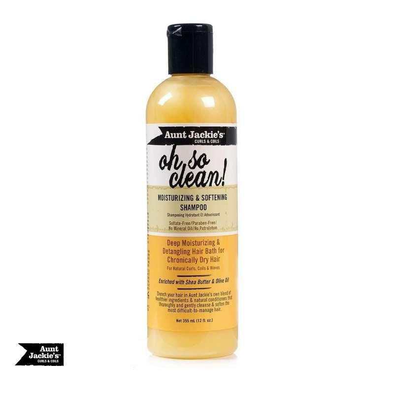 Aunt Jackie's Oh So Clean Moisturizing Shampoo - cheveuxcrepus.fr