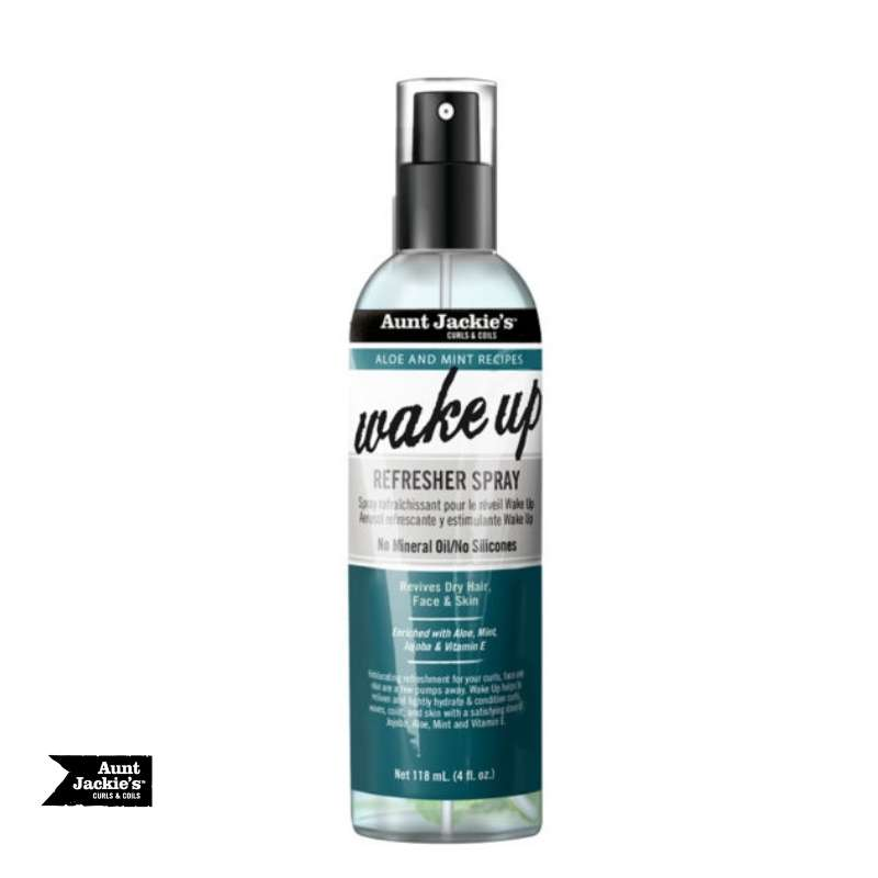 Aunt Jackie's Wake Up Refresher Spray – Leave-In Ultimate Detangling Moisturizer - cheveuxcrepus.fr