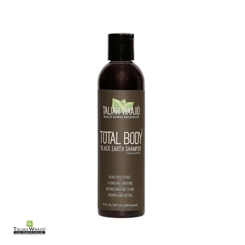 Taliah Waajid Black Earth Products Total Body Black Earth Shampoo - cheveuxcrepus.fr