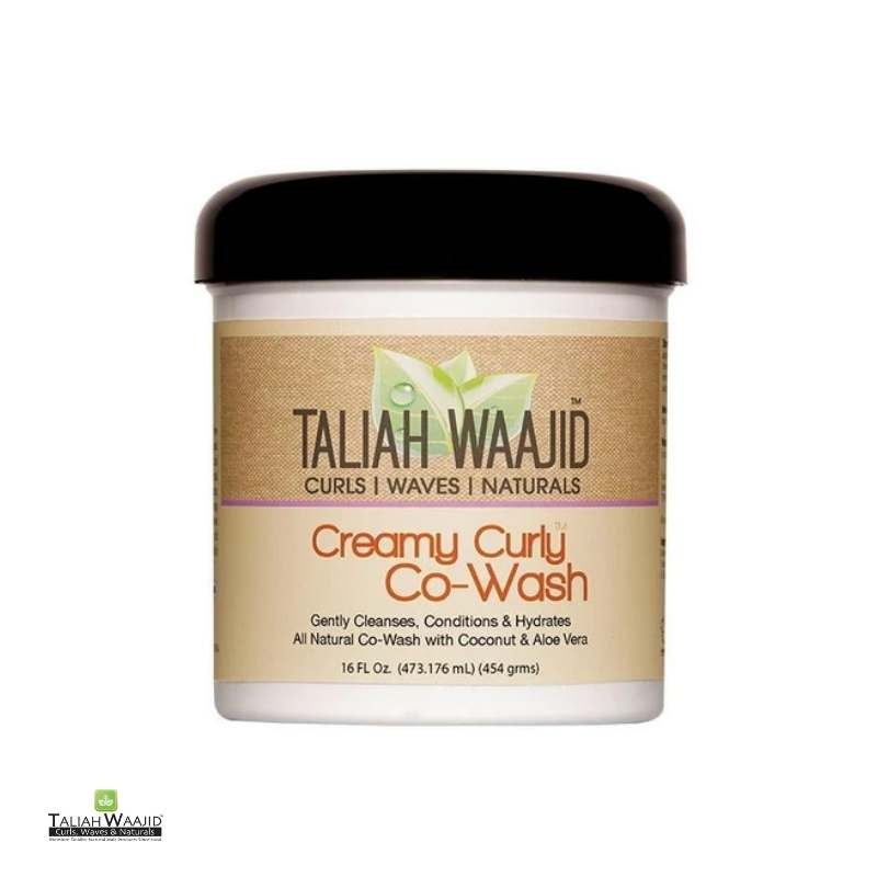 Taliah Waajid Curls, Waves & Naturals Creamy Curly Co-Wash - cheveuxcrepus.fr