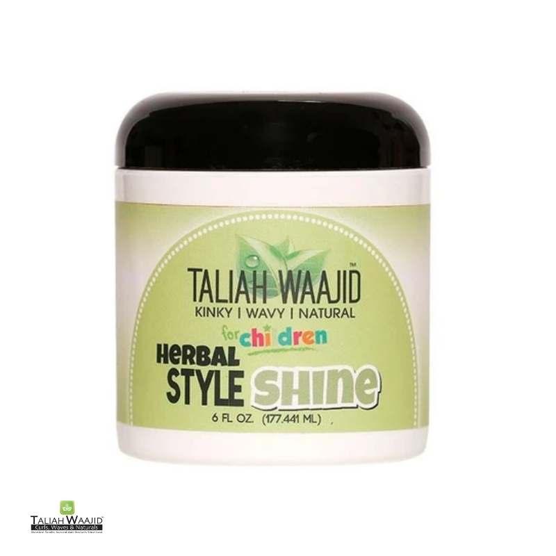 Taliah Waajid KinkyWavyNatural Herbal Style & Shine For Natural Hair - cheveuxcrepus.fr