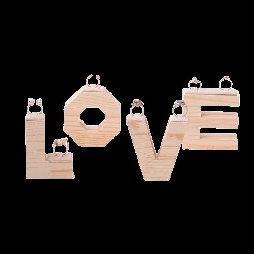 Porte bague amour