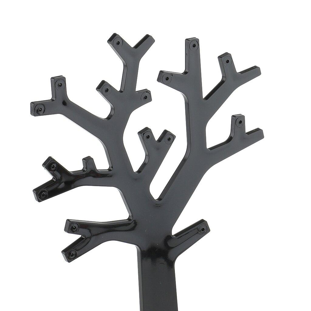 Arbre bijoux en acrylique noir