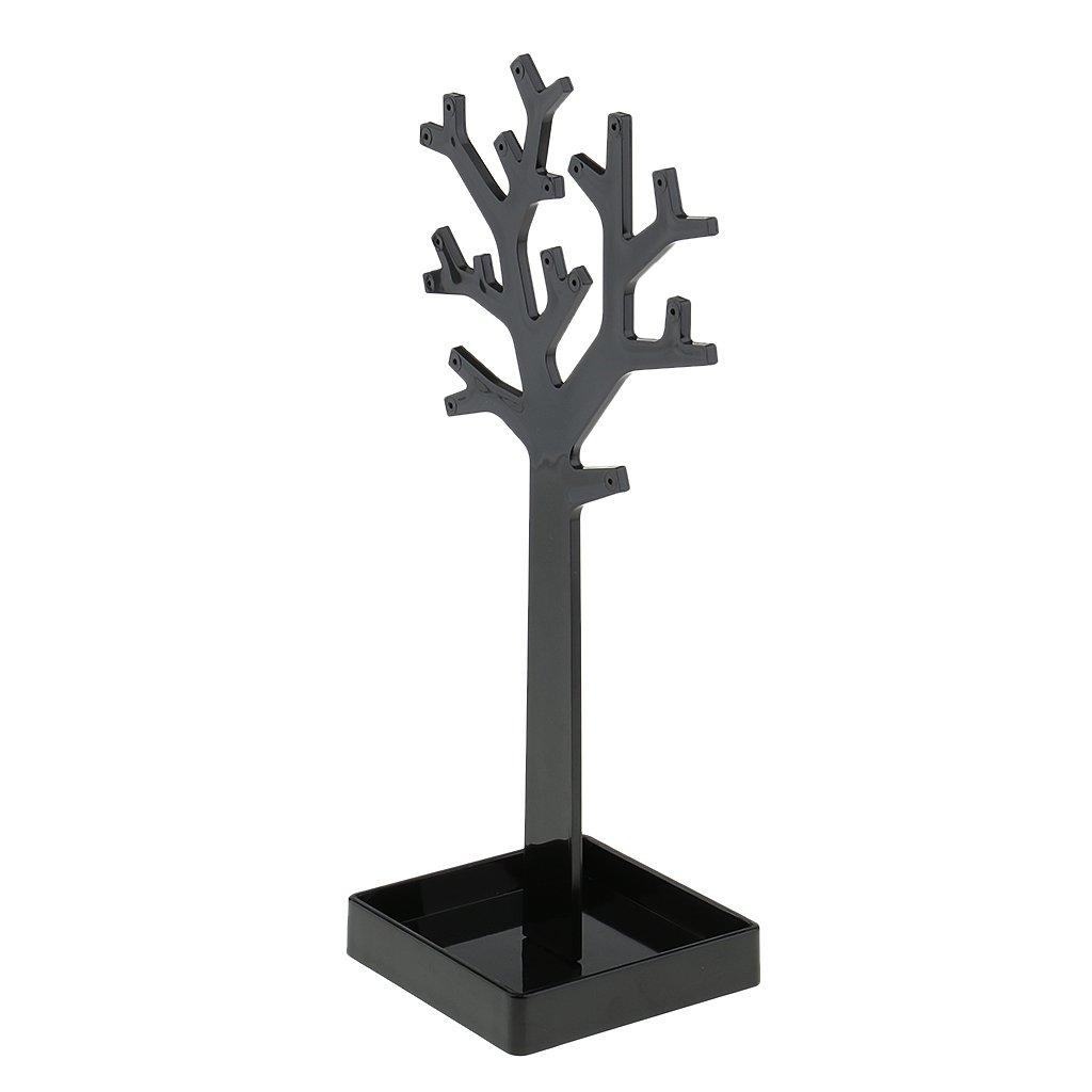 Arbre acrylique noir