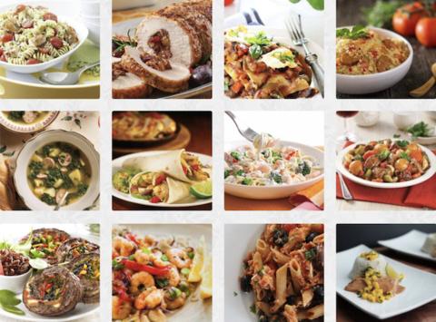 on y voit une multitudes de plats préparés avec la cuisson sous vide