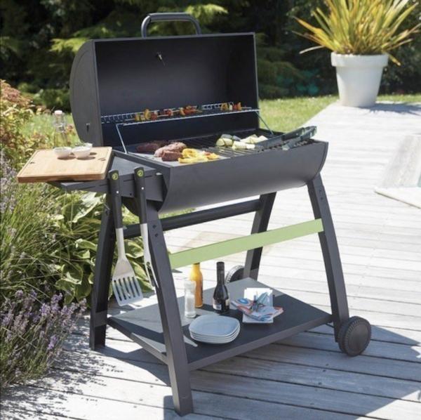barbecue charbon à bois