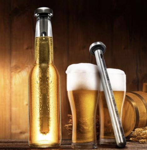 tige rafraîchissante pour bouteille de bière