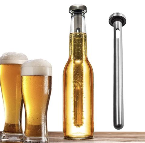 tige rafraîchissante bouteille de bière