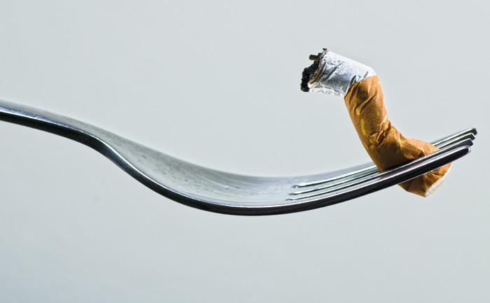 Ces aliments qui peuvent vous aider à arrêter la cigarette !