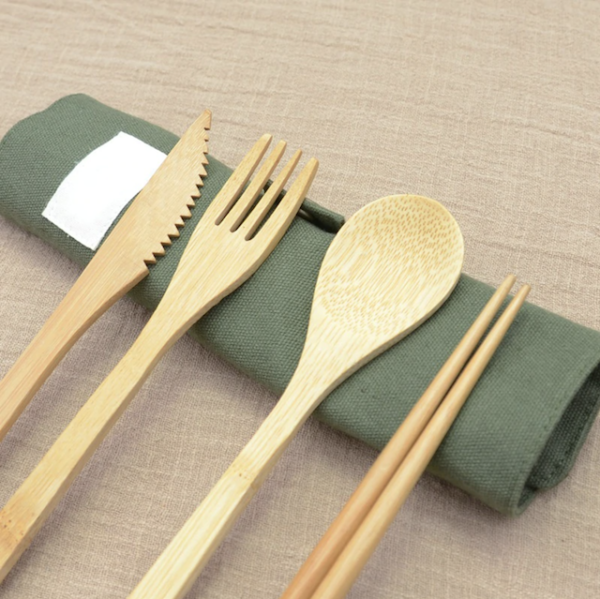 Kit couvert bambou - New Kitchen Pop