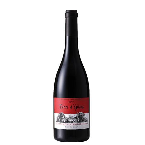 vin rouge terre d'épice