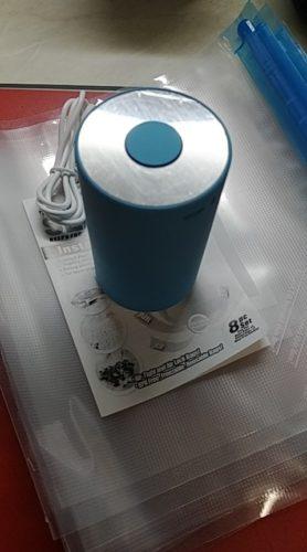 Mini pompe à sceller sous vide photo review