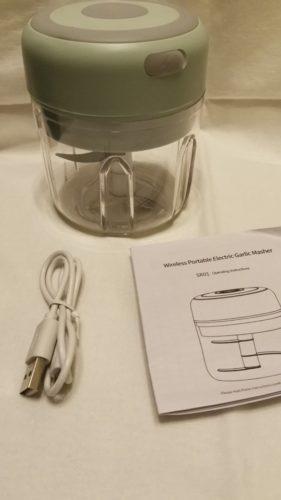 Mini hachoir rechargeable photo review