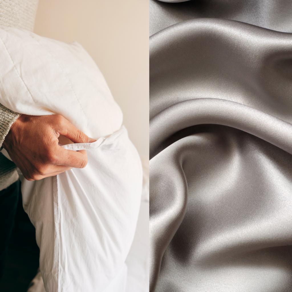oreiller soie vs coton