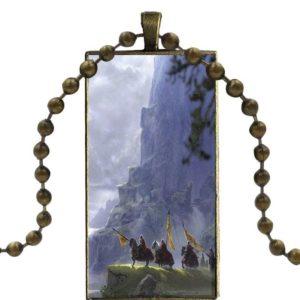 Chaine en acier chevalier des croisades du Moyen Âge homme et femme