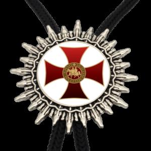 Collier croix de Saint Georges rouge et blanc